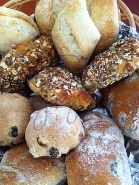 Mélange de petits pains